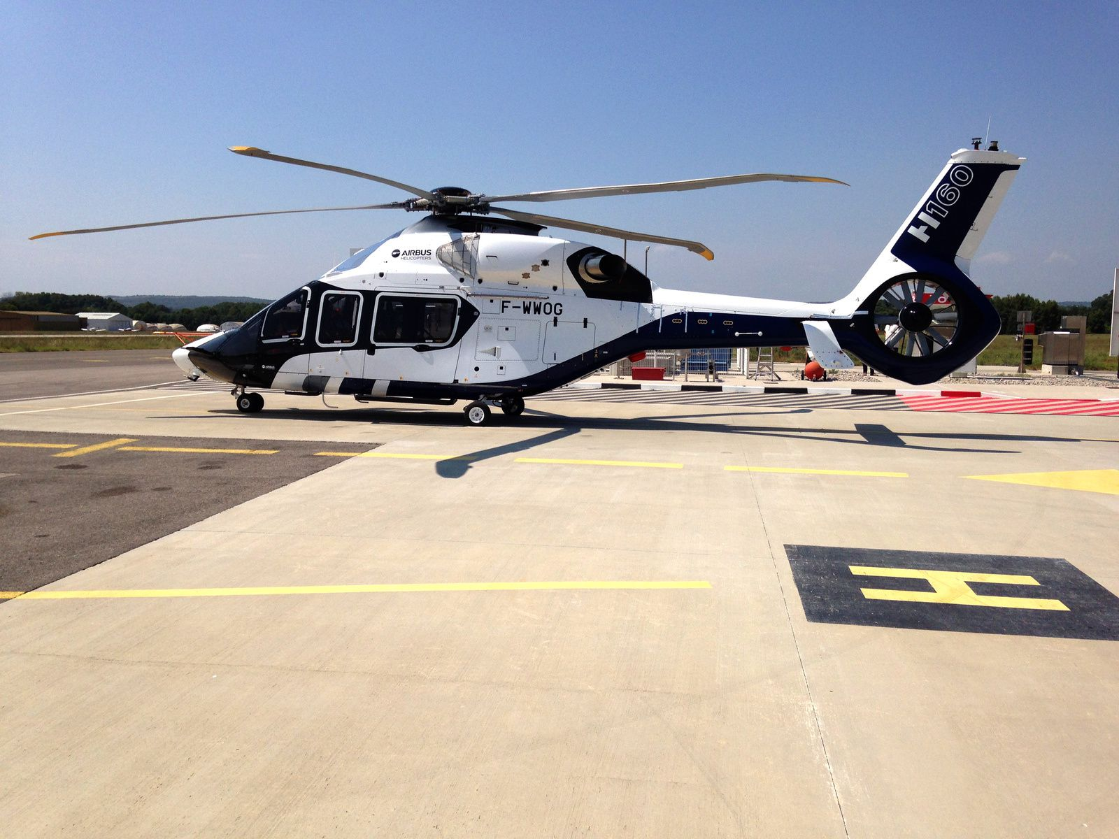LE NOUVEL HELICO D'AIRBUS HELICOPTER A AIX