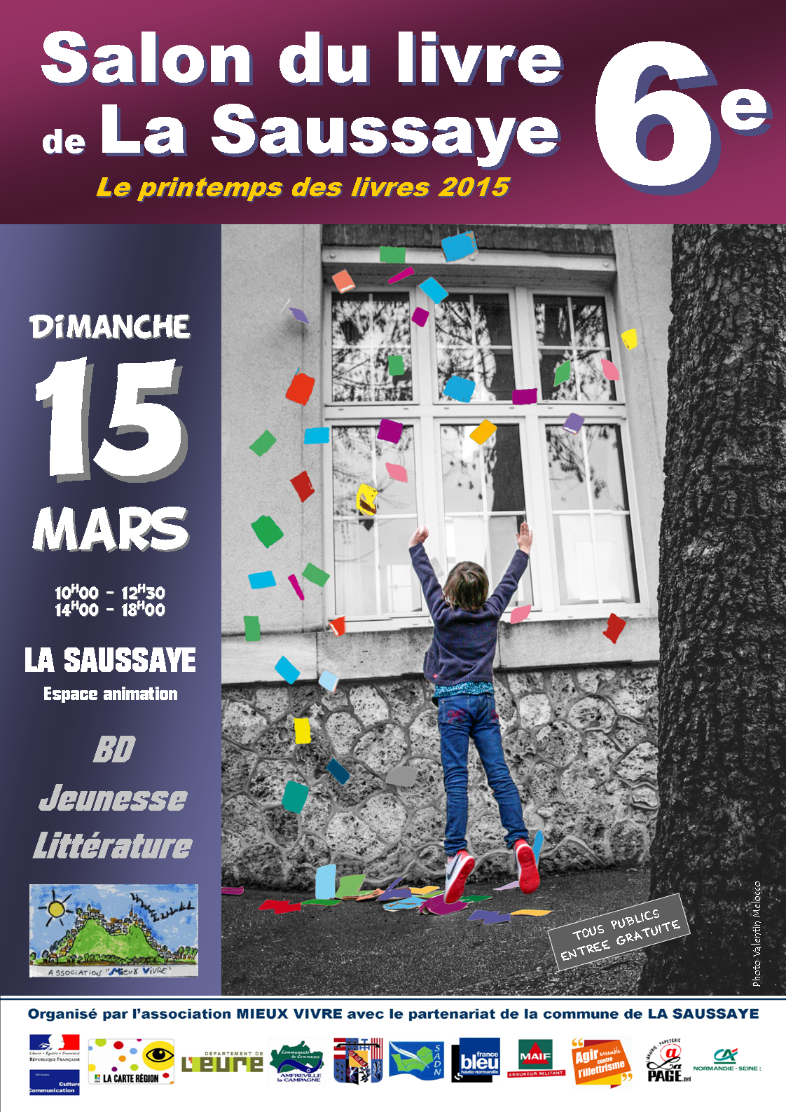 La Saussaye , dimanche 15 mars