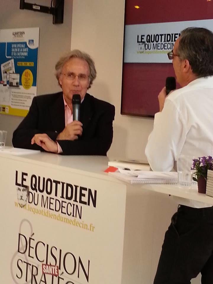 Interview sur le stand du Quotidien au salon Autonomie et Santé