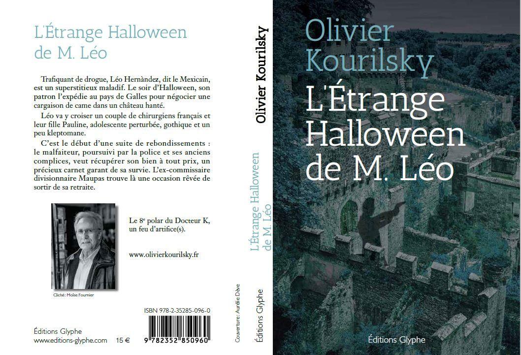 L'étrange Halloween de M. Léo part chez l'imprimeur !