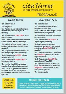 23-24 avril, Cita'livres à Oléron !