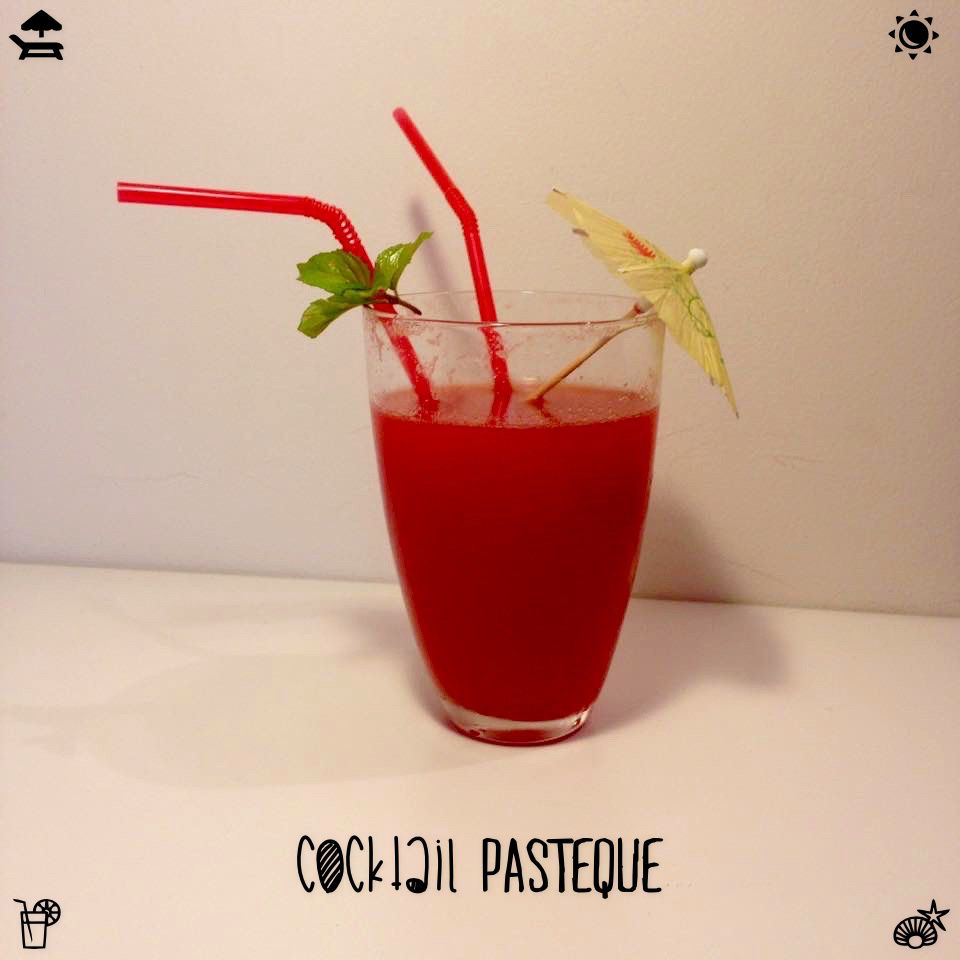 Cocktail Pastèque