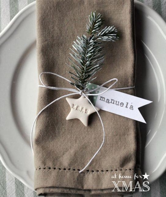 Préparons Noël - les marques places