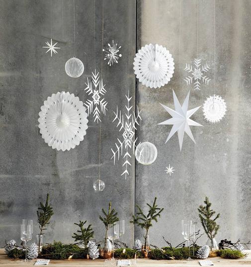 Préparons Noël - le centre de table
