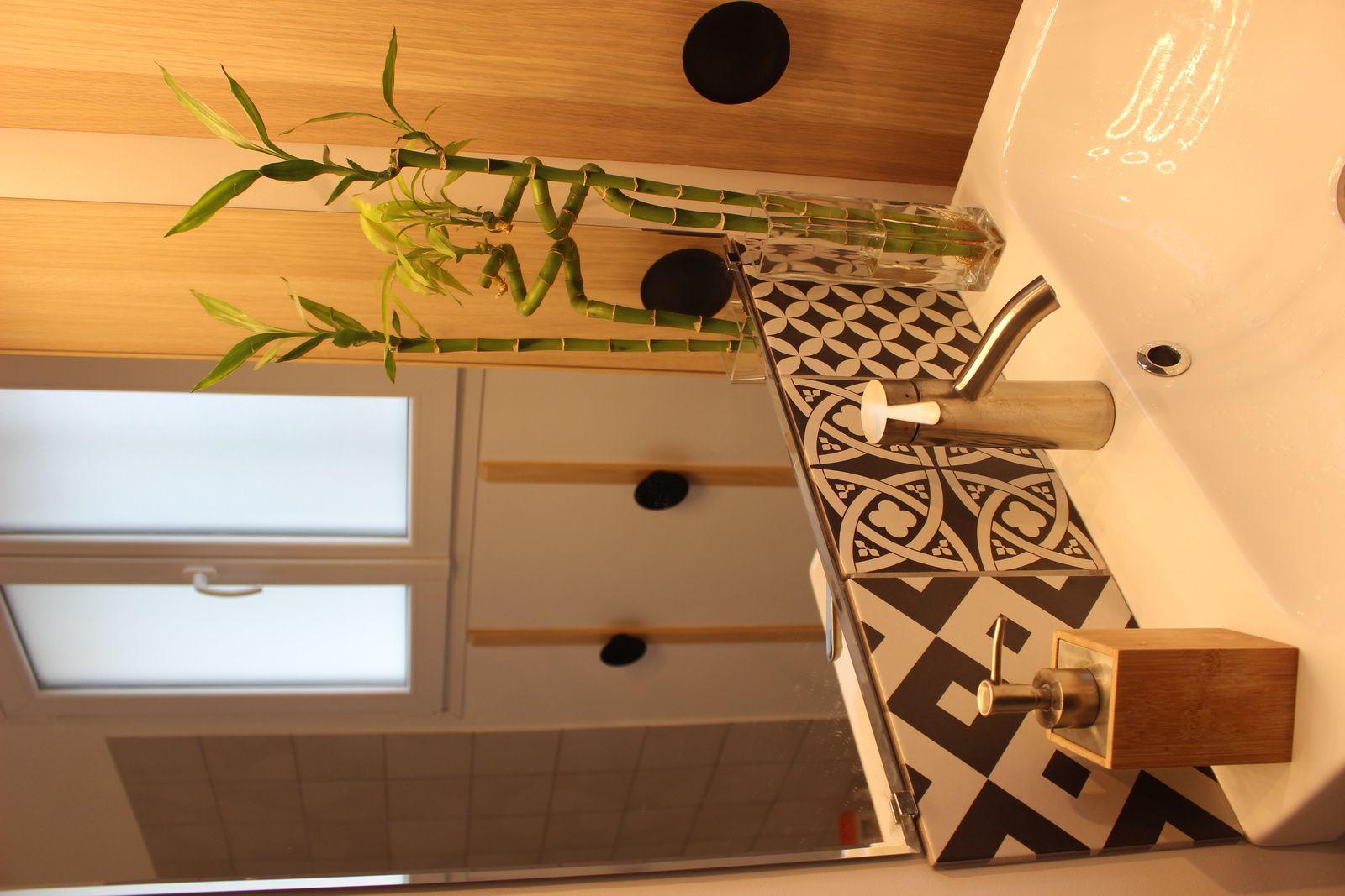 Maison #7 - Avant/Après - la salle de bain