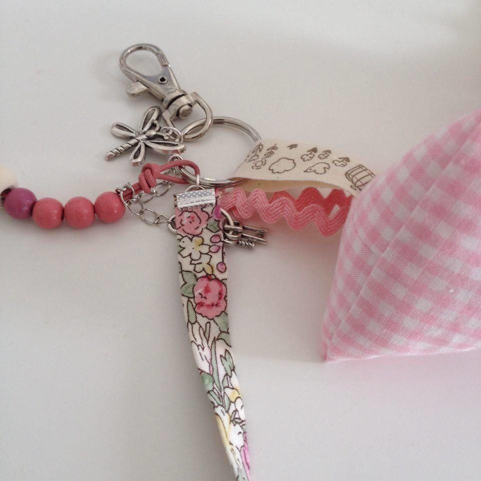 DIY - des porte-clés grigri girly