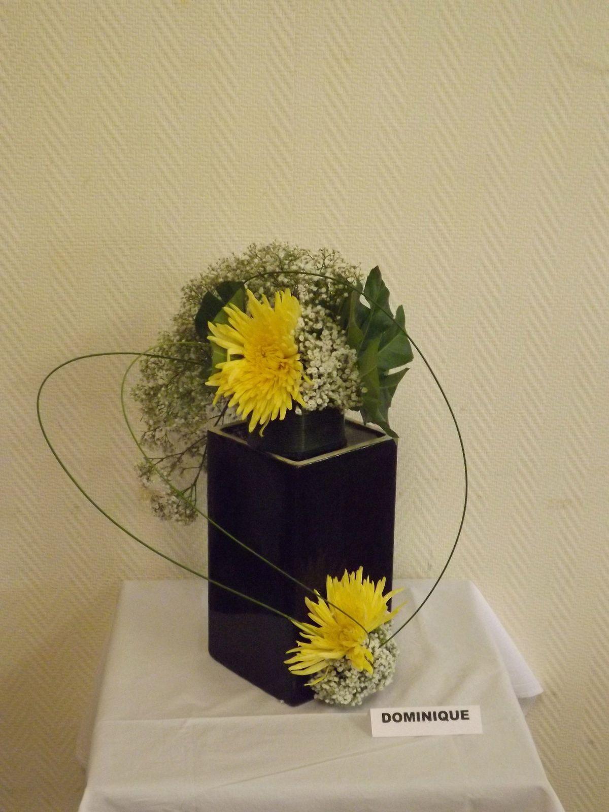 Gypsophile, Aralia, Flexi-grass, Fleurs: Crémone, Tokyo