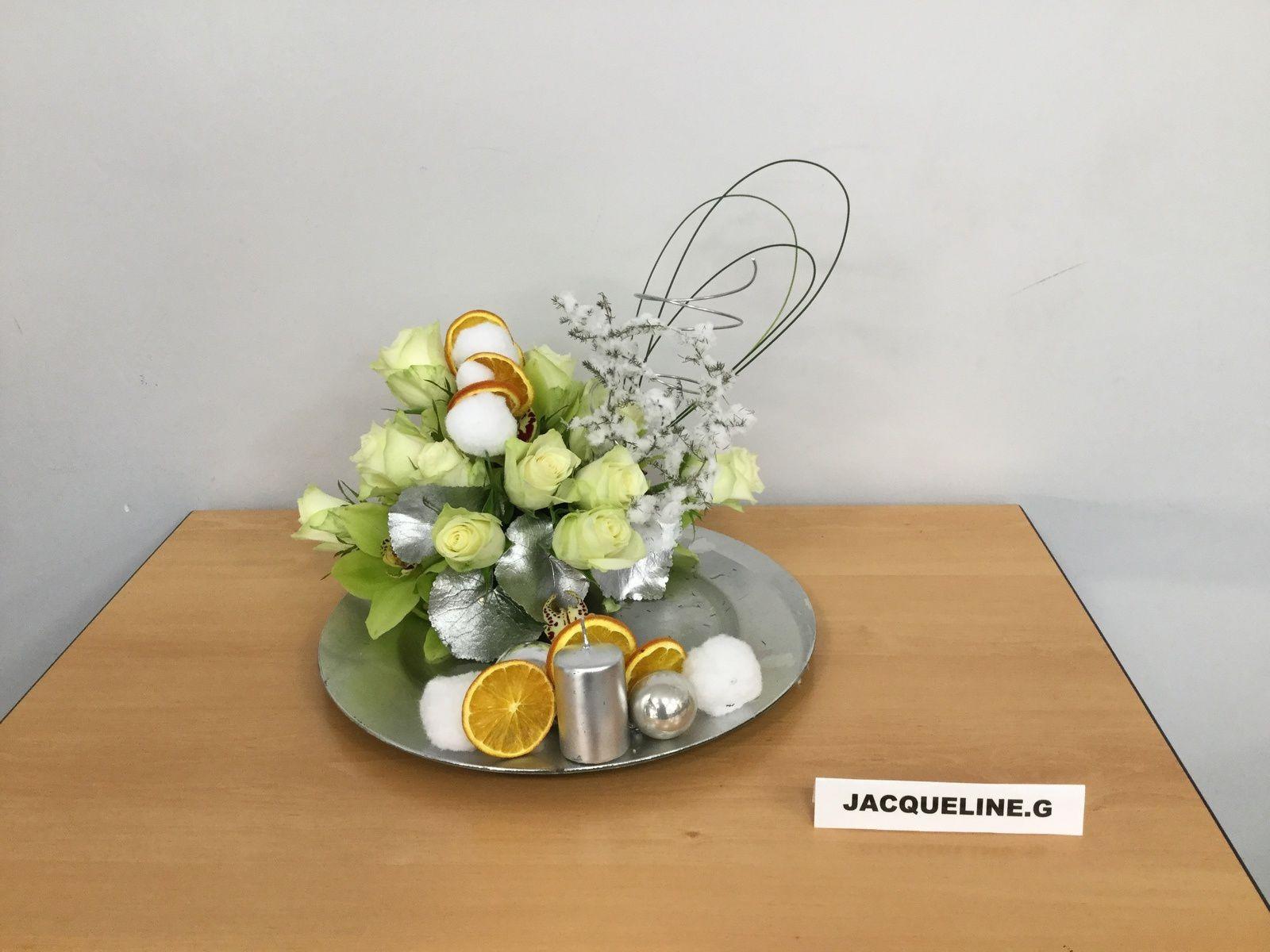 Cymbidium, Roses, Galax, Flexi-grass.