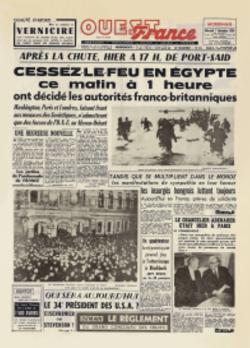 1956 : SUEZ , quand les américains se mêlent encore de tout , pour redistribuer les cartes