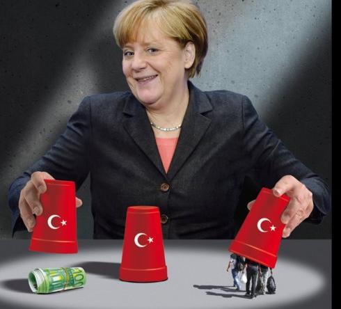 Les Amateurs : Merkel et la politique des réfugiés en 2015