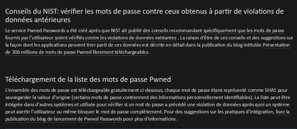 Mots de passe - Passwords : nouvelle version ?
