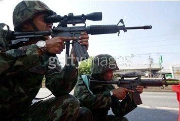 Deux soldats arrêtés avec plusieurs armes à feu destinées aux gardes du PDRC