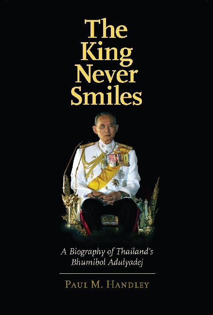 "Le livre ""The King Never Smile"""