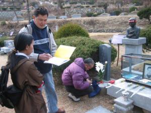 Somyot en Corée du Sud ou il a étudié le mouvement du travail coréen