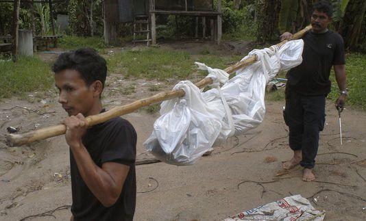 Une des victimes de l'esclavage en Thaïlande