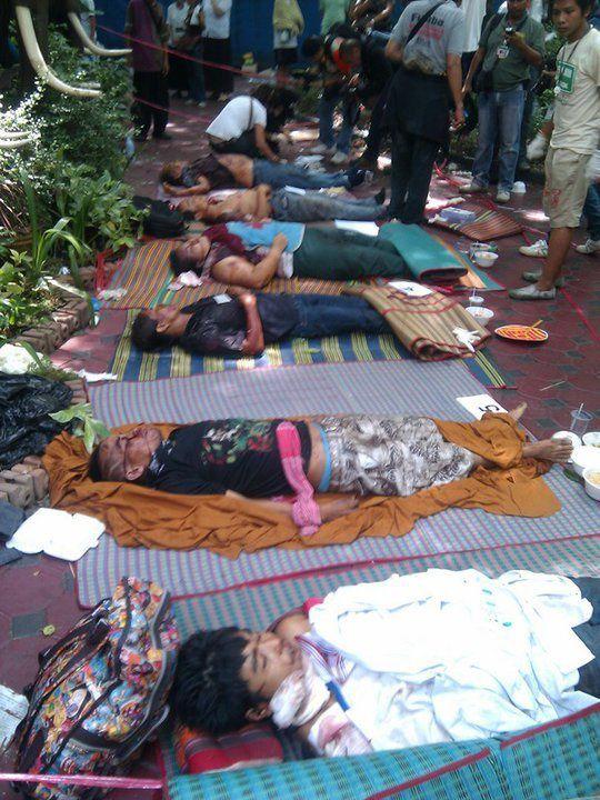 Les morts du Wat patum