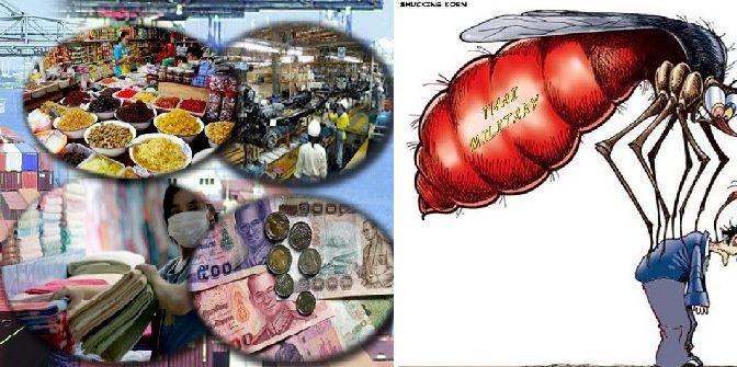 Pourquoi l'économie thaïlandaise est-elle en train de ralentir? Est-ce la faute de la junte?