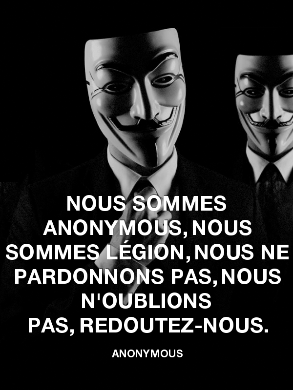 Le groupe international de hackers Anonymous déclare la cyber-guerre à la junte thaïlandaise