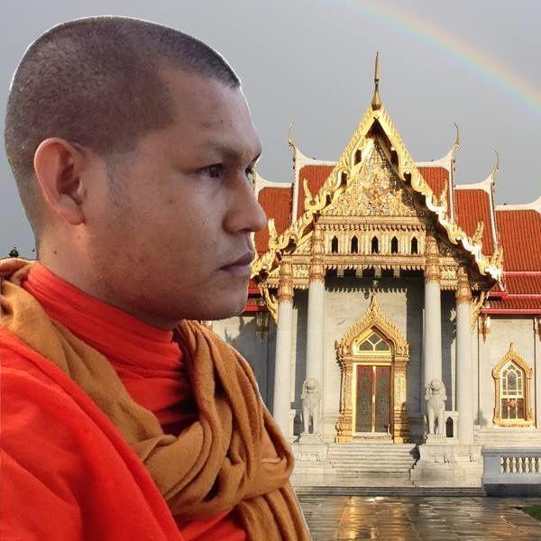 Le moine d'extrême droite Aphichat Promjan appelle à bruler les mosquées