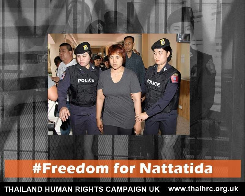 Liberté pour Nattatida !
