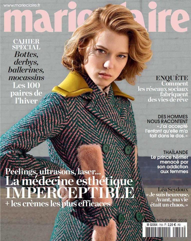 L'édition de novembre 2015 de Marie Claire