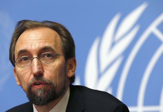 Le Haut-Commissaire des Nations Unies aux droits de l'homme, Zeid Ra'ad Al Hussein