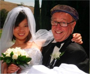 Un riche expatrié et sa jeune épouse thaïlandaise