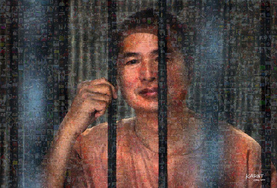 Le prisonnier politique thaïlandais Somyot Prueksakasemsuk