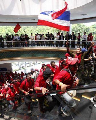 Raid des Chemises rouges sur le Sommet de l'ASEAN en 2009 à l'hôtel Royal Cliff Beach, Pattaya