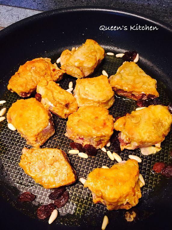 filetto di maiale con salsa di mele al curry
