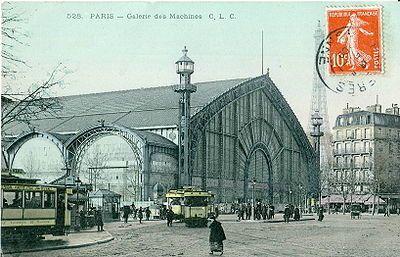 La galerie des Machines(Source Wikipédia)