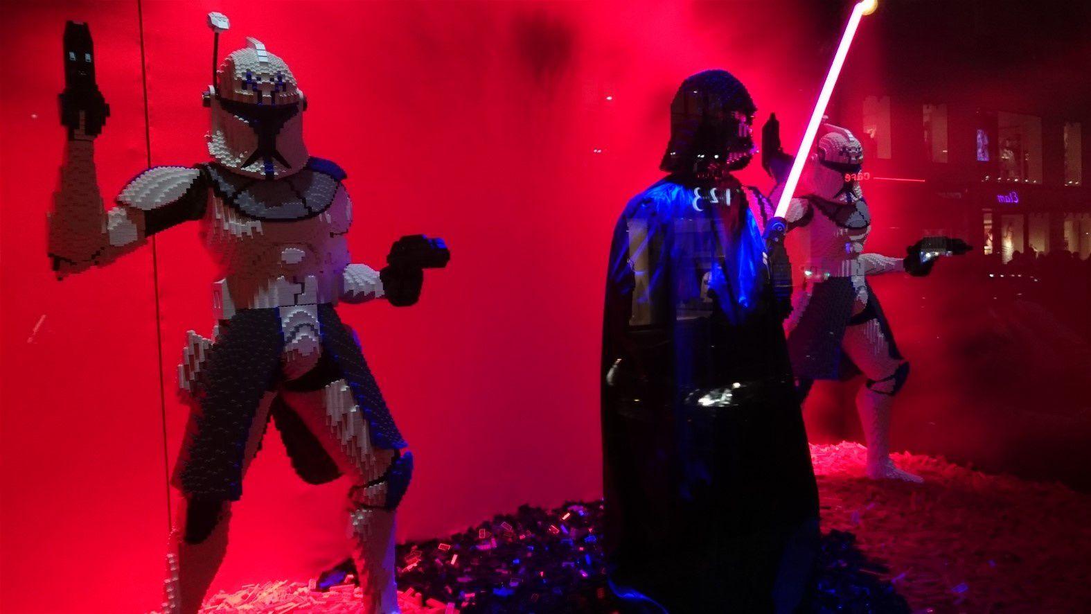 Stormtroopers et Kylo Ren en lego