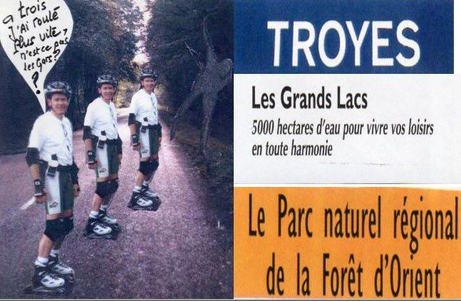 US BHV Cyclos, rollers et Randonneurs en 1998 ! par Jean-Pierre Franssens
