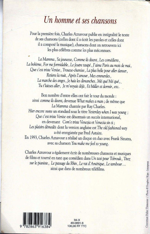 Hommage à Charles Aznavour Le Blog Du Réseau Bazar Bhv