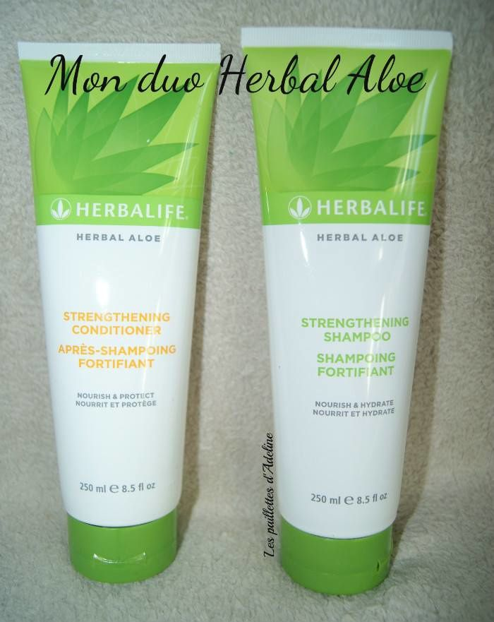 Ma nouvelle routine capillaire avec Herbalife