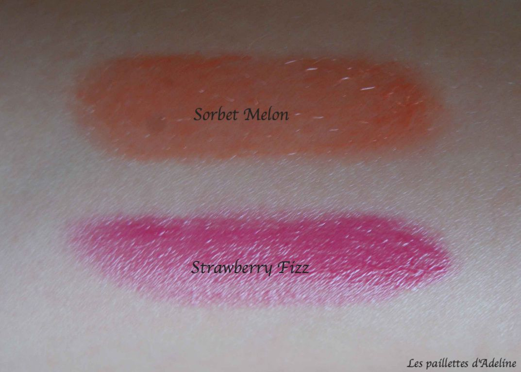 Les kiss me balm de Sephora, review et swatches