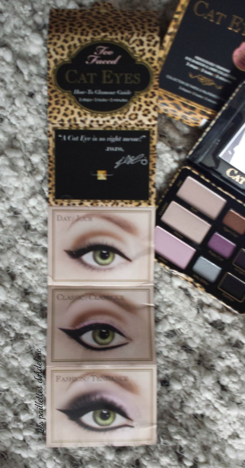 La Cat's eyes de chez Too Faced