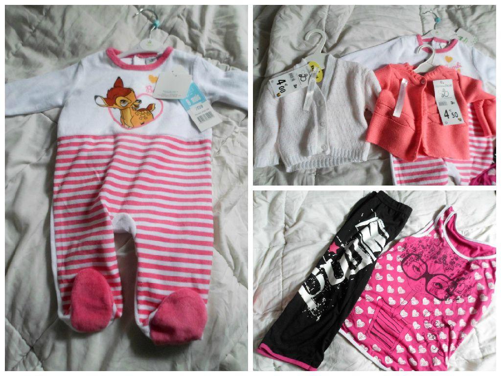Pyjama Bambi Babou, 2 gilets Babou, pyjama Babou