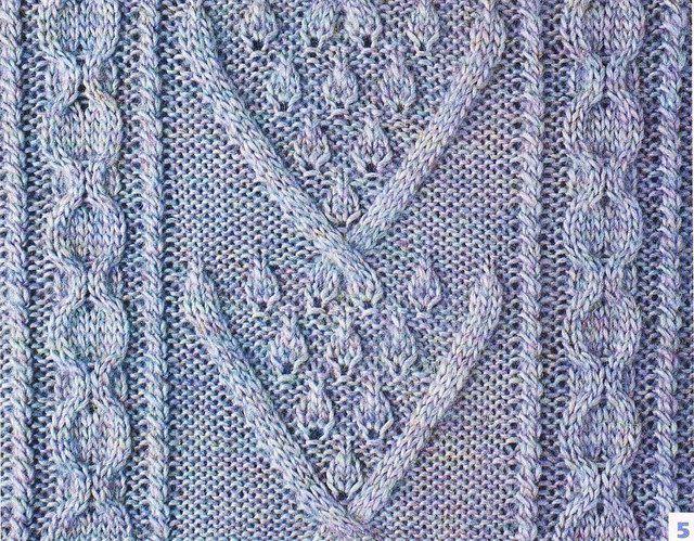 Motifs au tricot