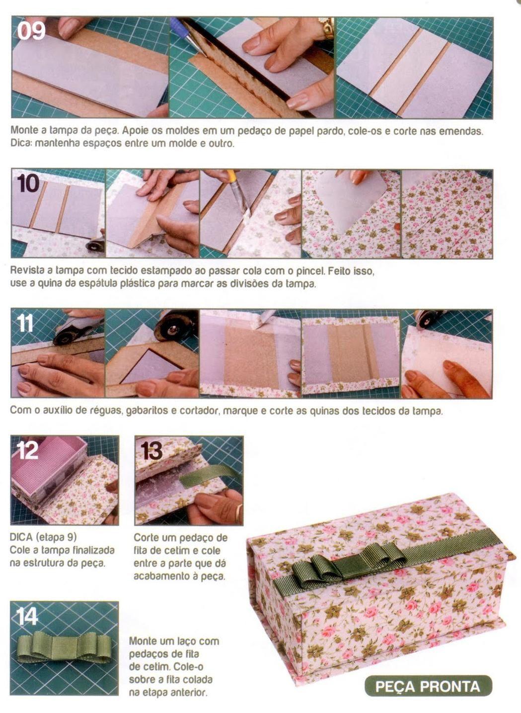 DIY : Boite en cartonnage