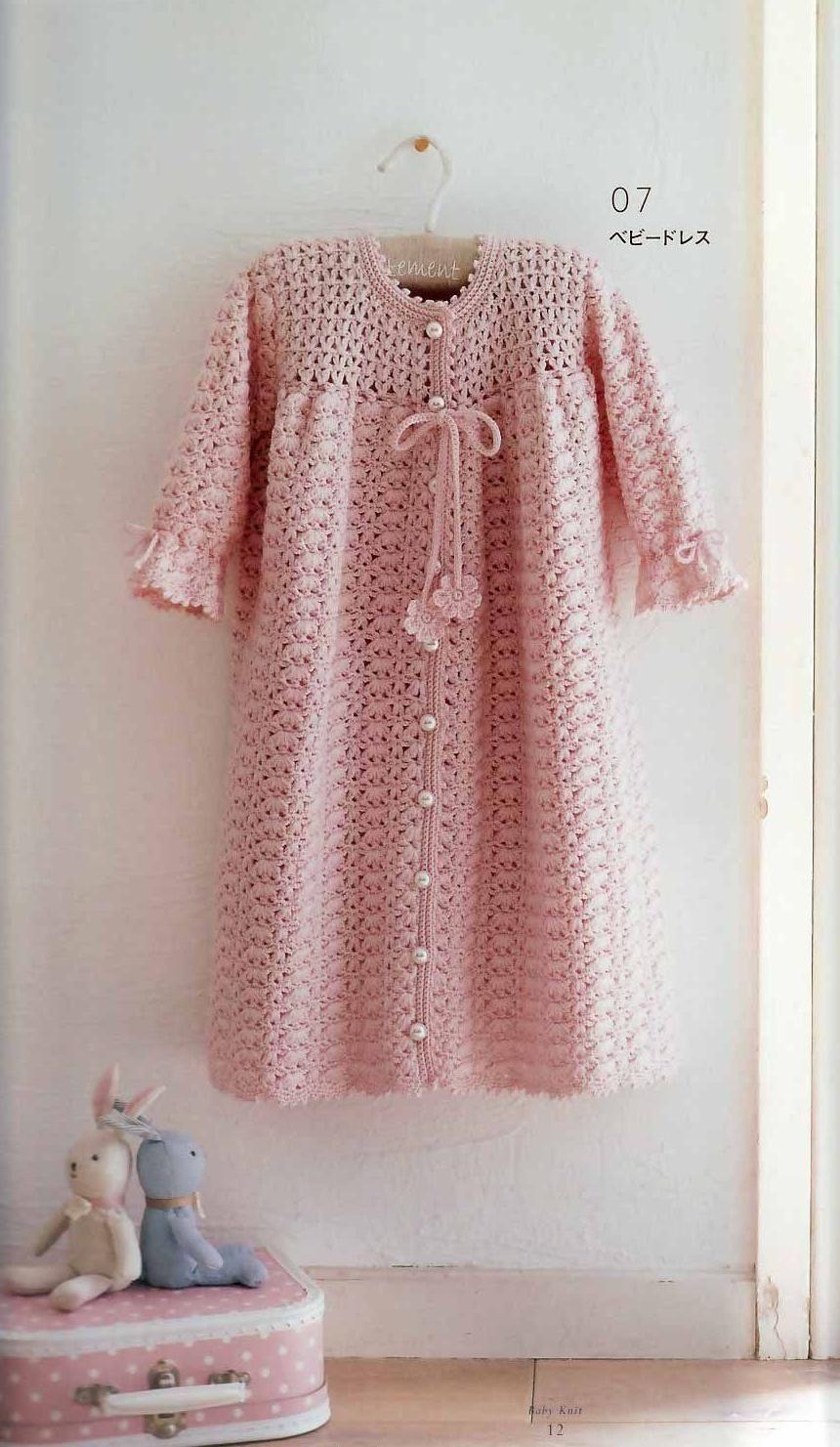 Robes bébé au crochet (2)