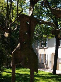 les sculptures du musée de la Création Franche à Begles