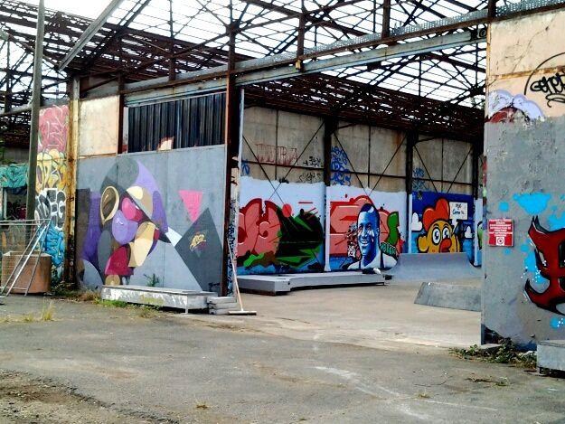 de nouvelles oeuvres réalisées par les meilleurs gaffeur bordelais, Vincent Graffiti, Alber, Jeff Soto, Zarb Fullcolor, Roble,  Sion,  Landroïd .....