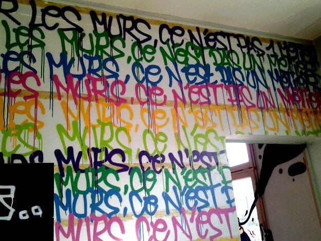 street art Talence back to school