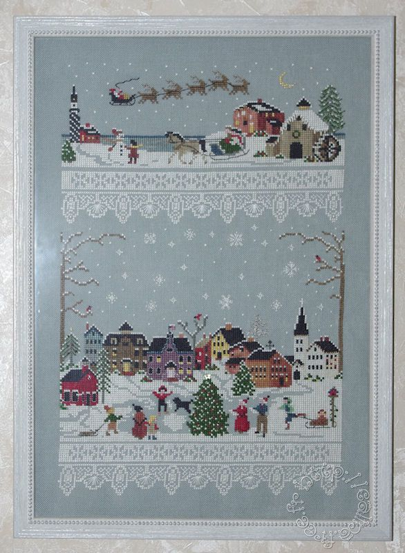 Christmas Village Victoria Sampler