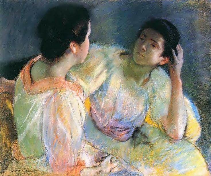 The Conversation (Mary CASSAT)
