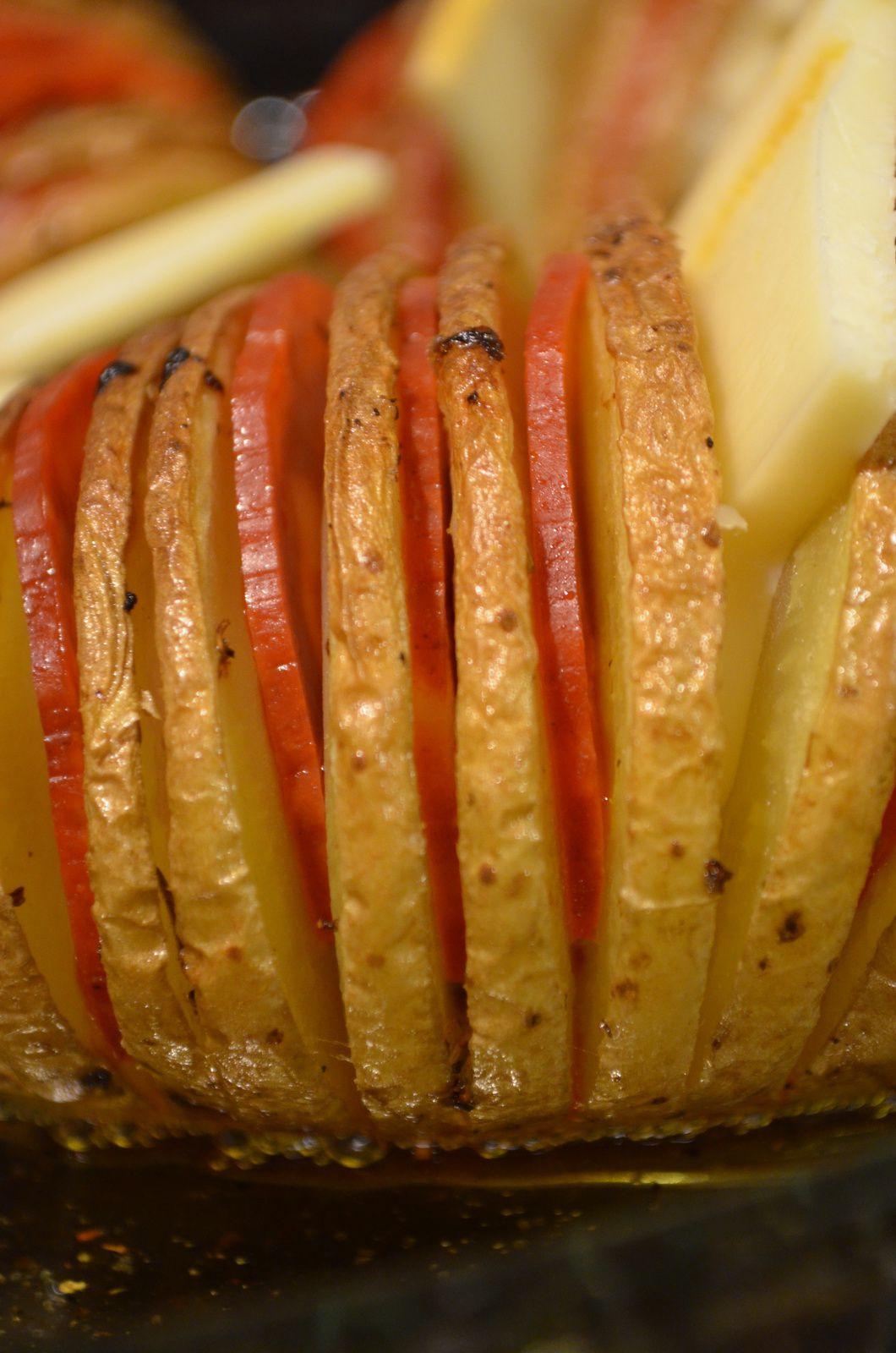 La pomme de terre Hasselback ou la patate des gens heureux