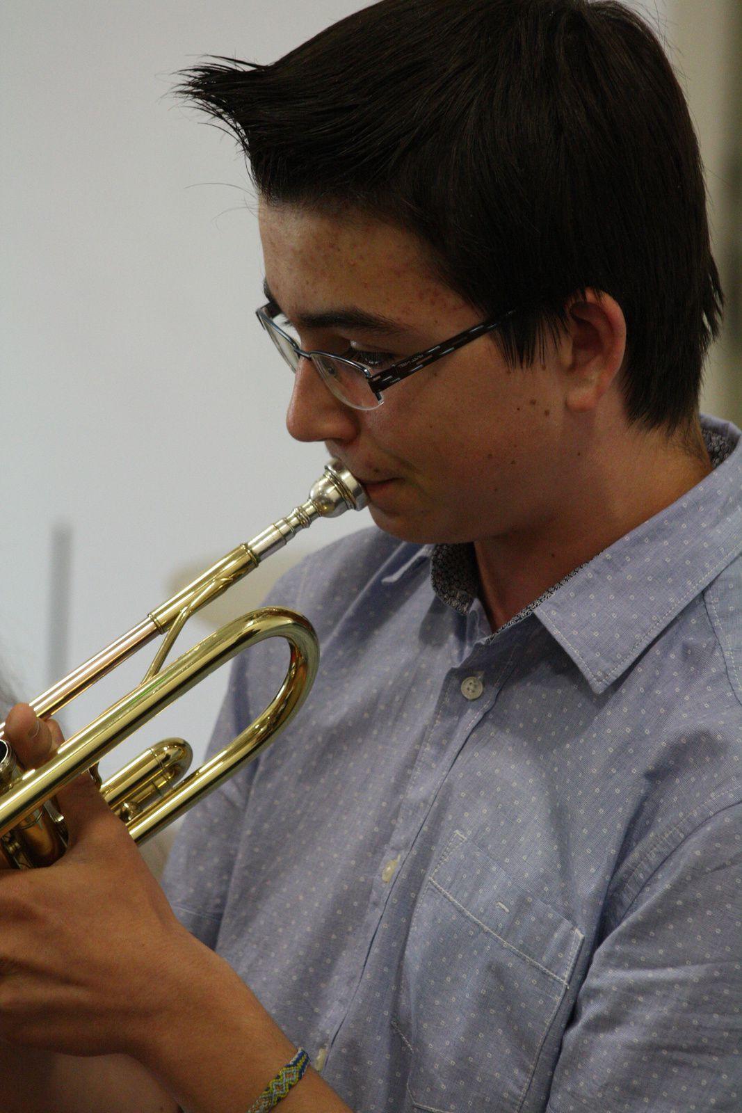 Audition de l'Ecole de Musique 2014