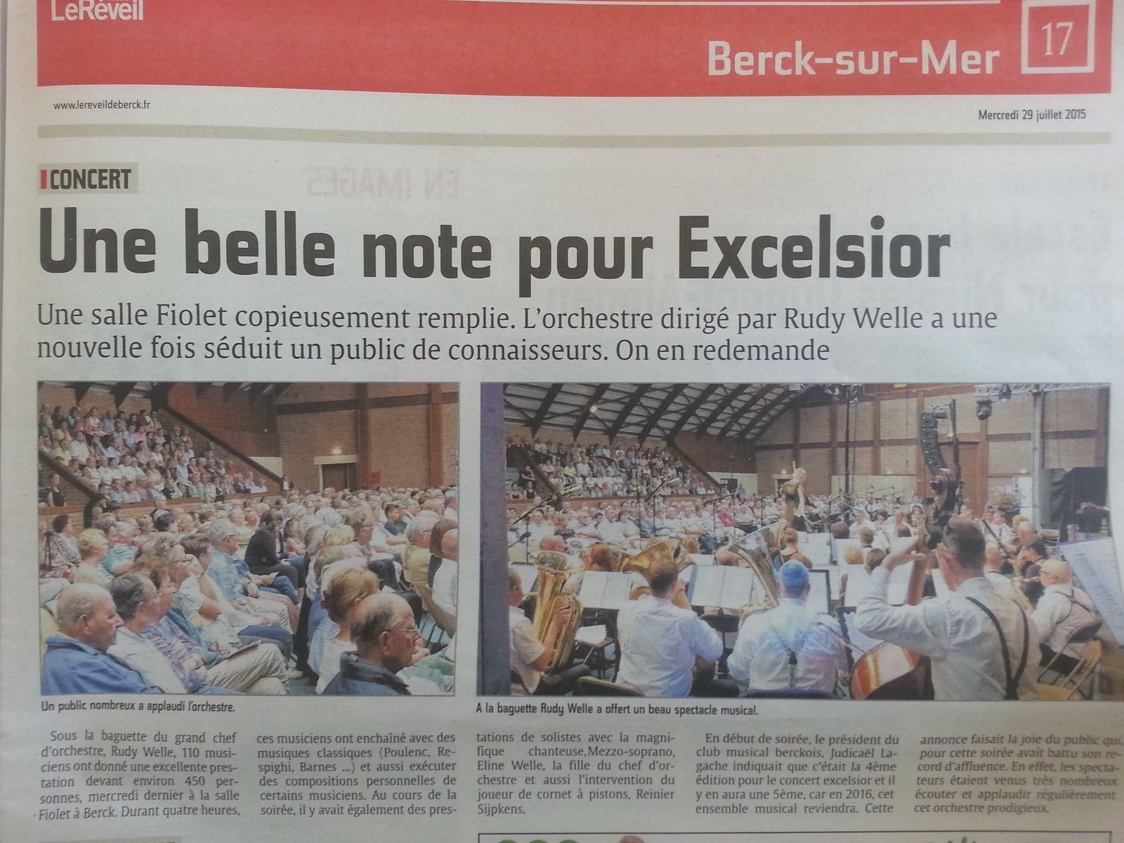 Excelsior 2015 à Berck sur Mer