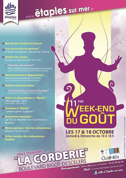 Le Club Musical Berckois participe au week-end du Goût à Etaples sur Mer